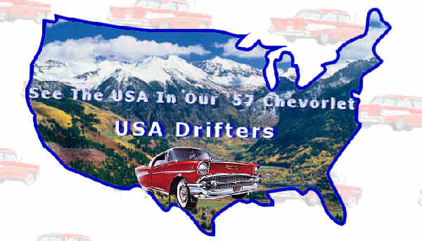 Worksheet. USA DRIFTERS